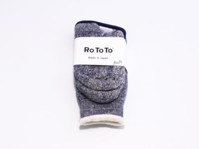Rototo double face socks #deepocean-01
