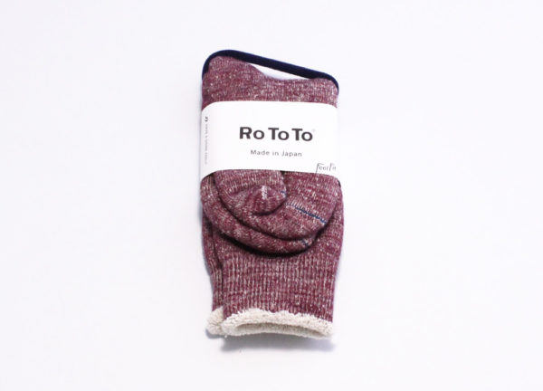 Rototo double face socks grape-01.jpg