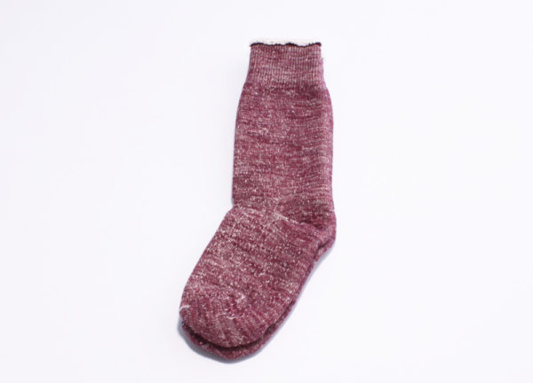 Rototo double face socks grape-02