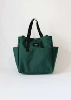 Bags-In-Progress-Carry-All-Beach-Bag-Darkgreen-Front