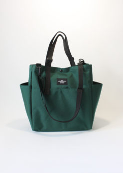 Bags-In-Progress-Carry-All-Beach-Bag-Darkgreen-Front2