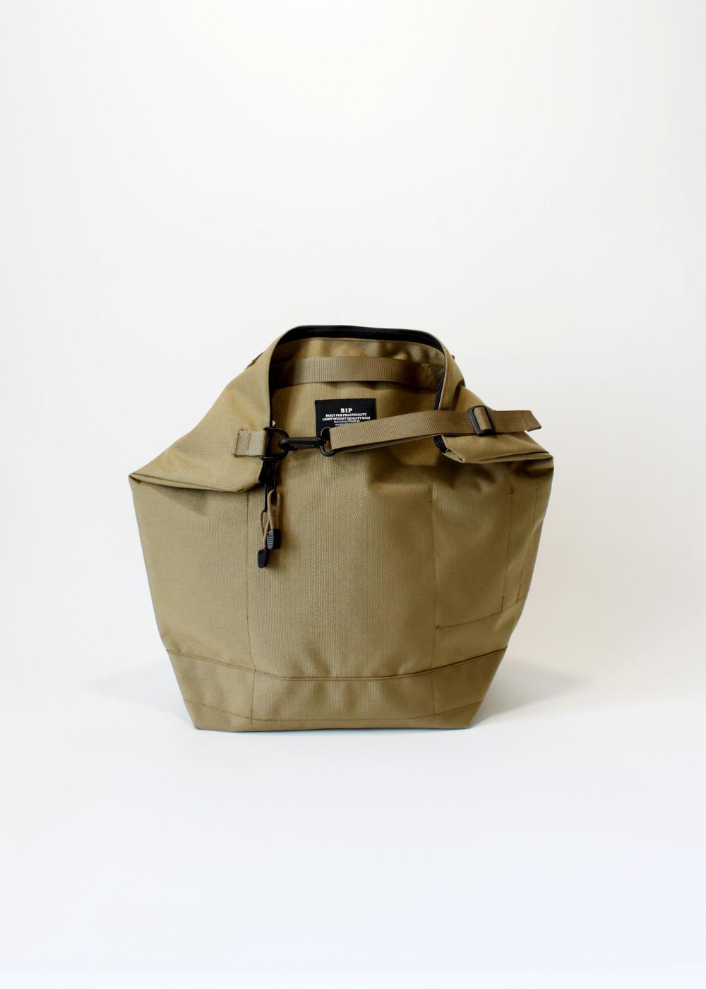 Bags-In-Progress-Zipper-Backpack-Kahki-Front