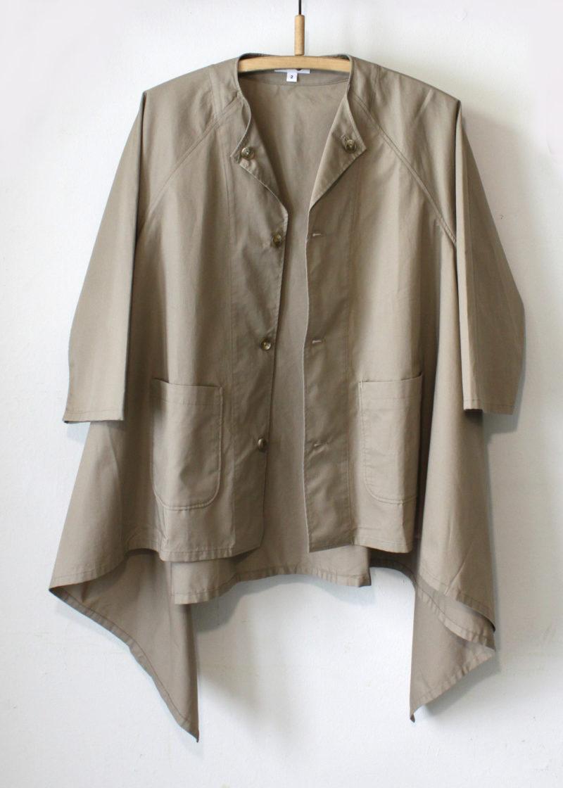 Engineeredgarments-No-Collar-Raglan-Khaki-High-Count-Twill1