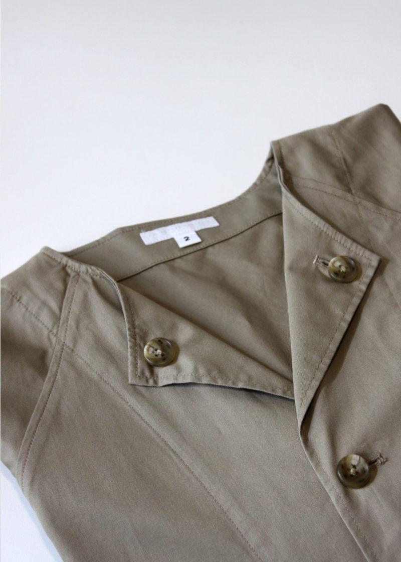 Engineeredgarments-No-Collar-Raglan-Khaki-High-Count-Twill4