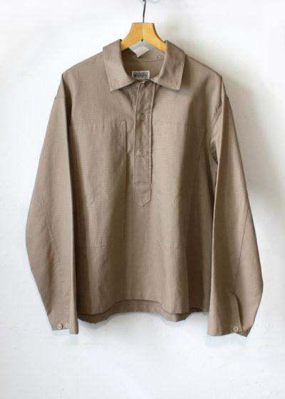 Engineeredgarments-Workaday-Army-Shirt-Khaki-Cotton-Ripstop1