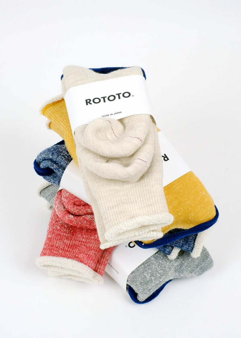 Rototo-double-face-socks-All