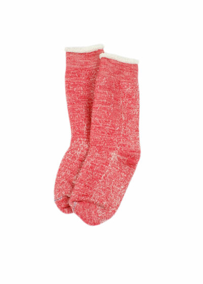 Rototo-double-face-socks-Red-02