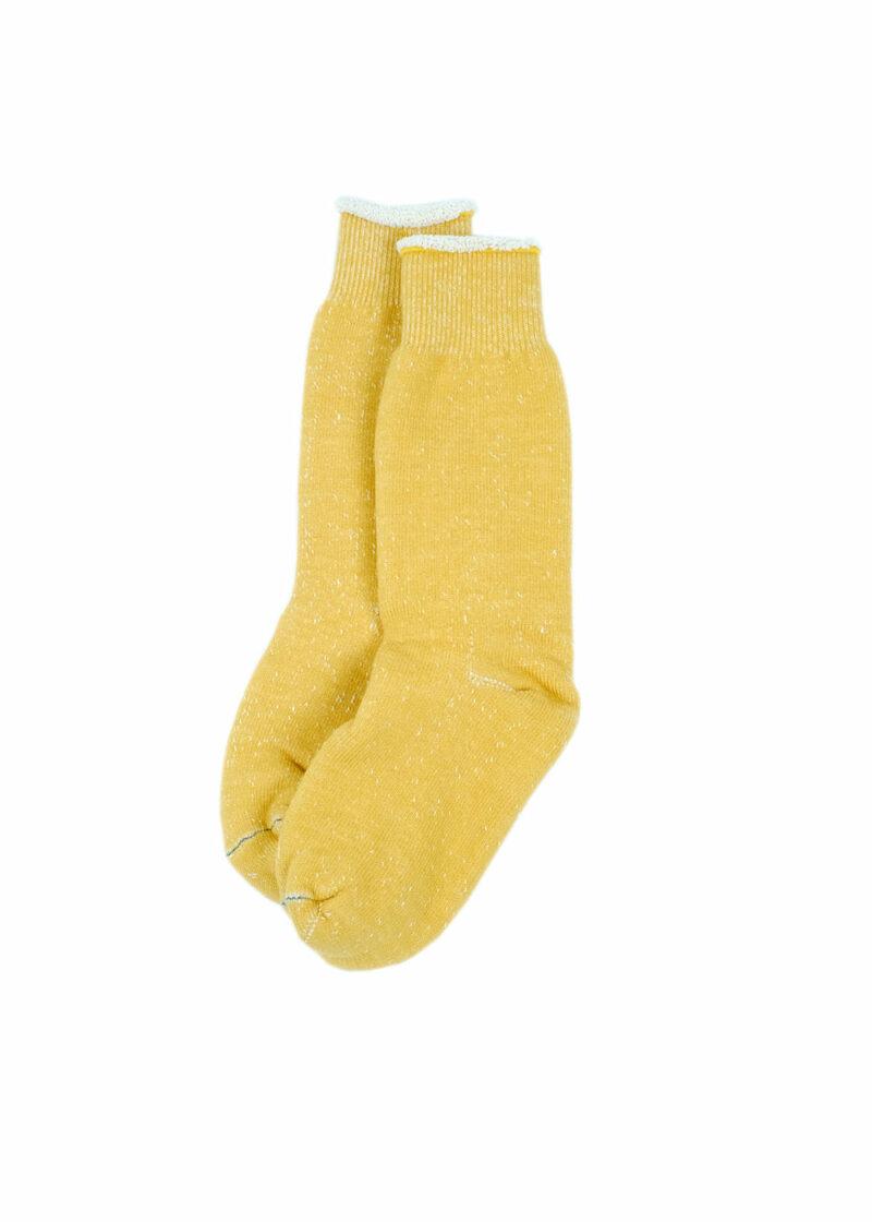 Rototo-double-face-socks-Yellow-02