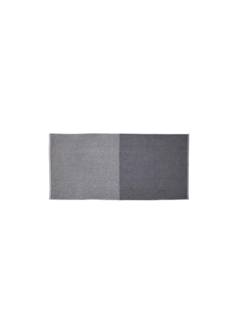 YoshiiTowel-5Trees2ToneChambray-FaceTowl-Gray-Dark.Gray