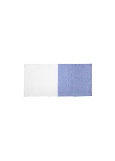 YoshiiTowel-5Trees2ToneChambray-FaceTowl-White-Blue