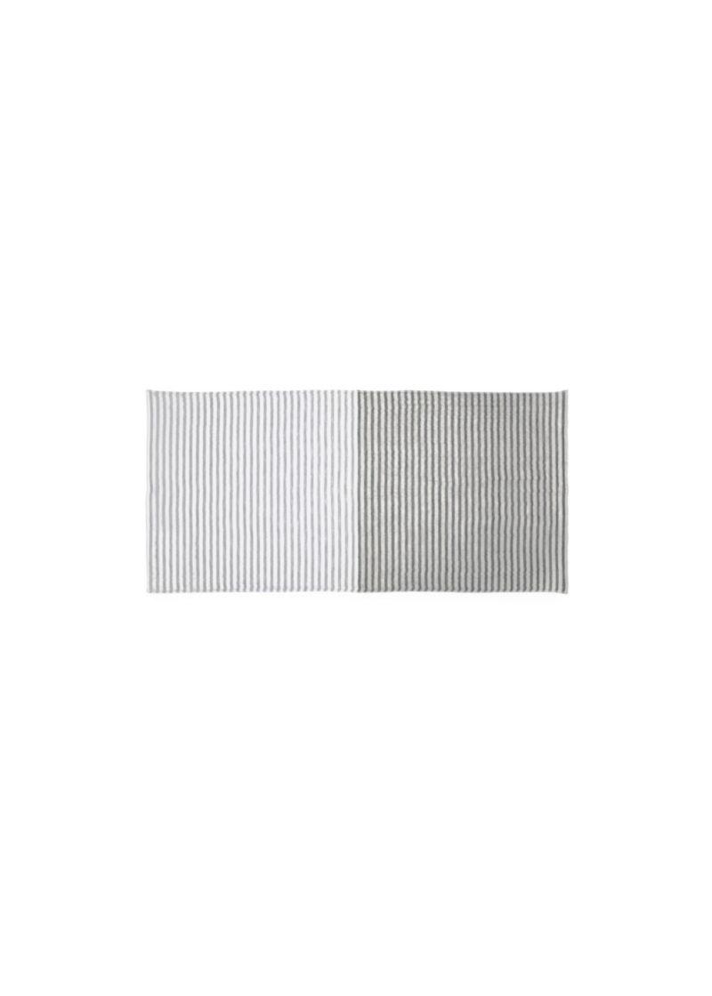 YoshiiTowel-5TreesLinenBorder-FaceTowel-Black-Gray