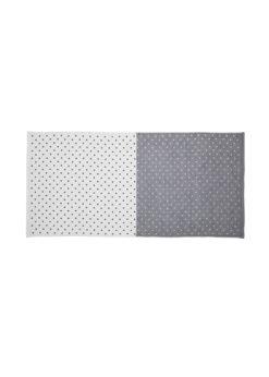 YoshiiTowel-5TreesPolkaDot-BathTowel-White-Gray