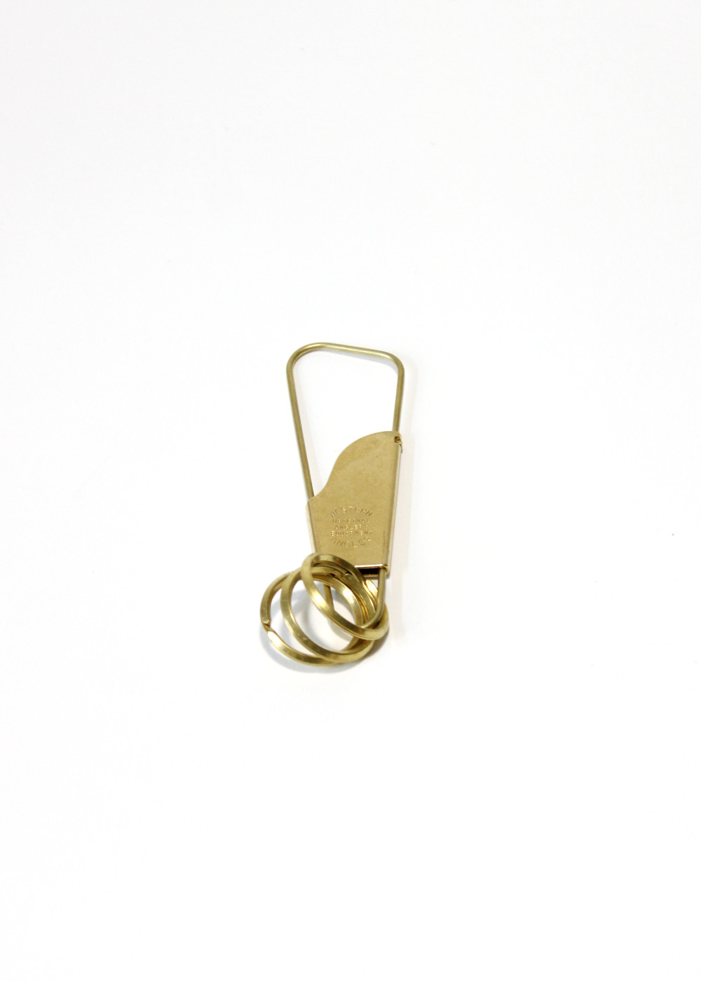 candy design and works holger key ring brass1