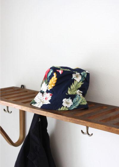 Engineered-Garments-BucketHat-Navy Hawaiian Floral Microfiber3