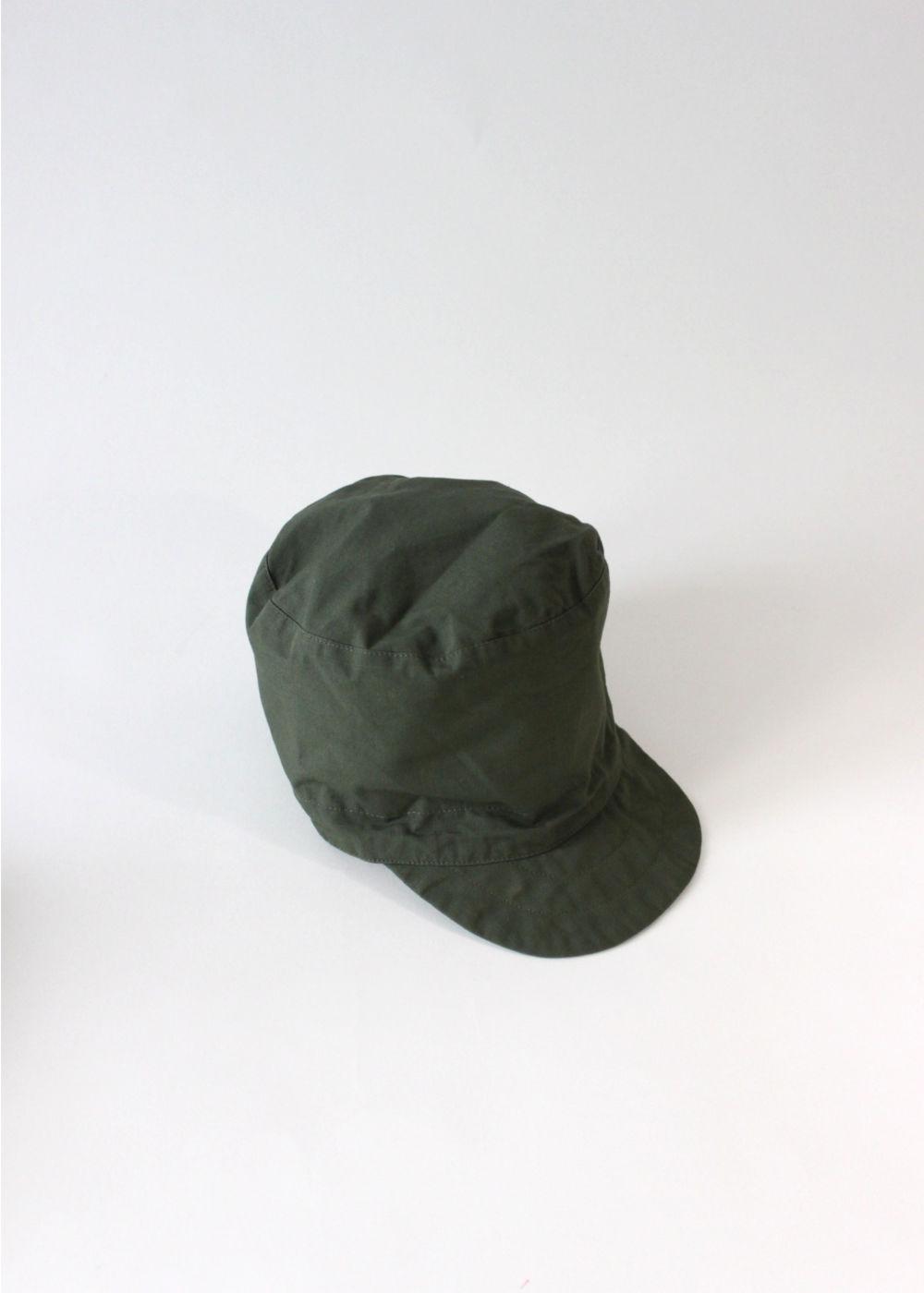 Engineered-Garments-FMCap-OliveCottonRipstop1