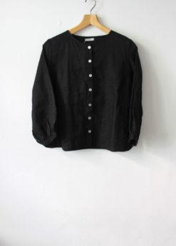 foglinenwork-Adria-Blouse-Black1