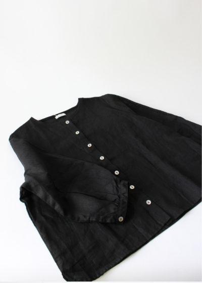 foglinenwork-Adria-Blouse-Black2