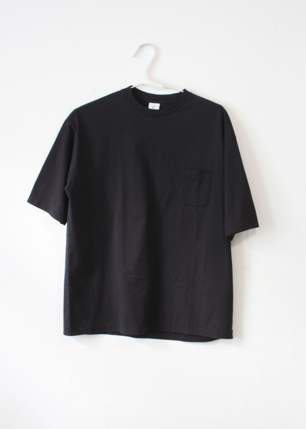 CTheHadagi-Crew-Neck-Short-Sleeve-T-shirts-With-Pocket-Black