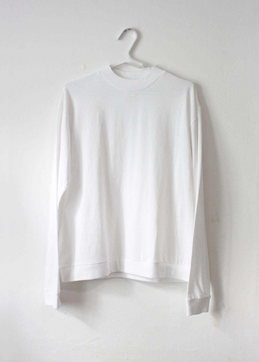 CTheHadagi-High-Neck-Long-Sleeve-T-shirts-White