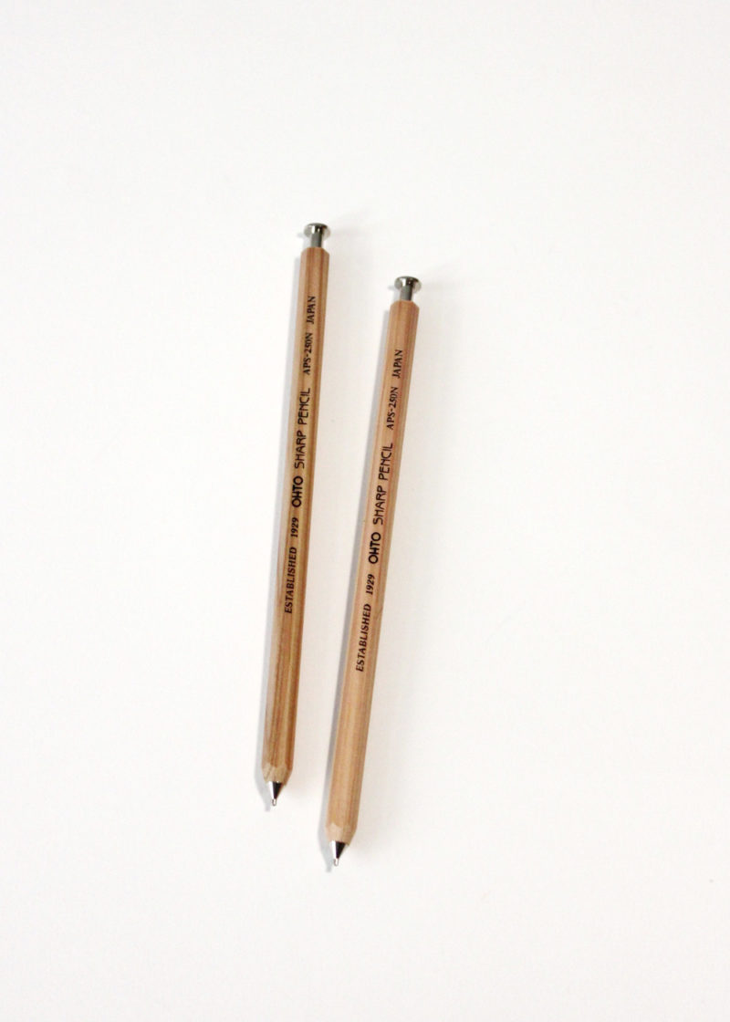 Ohto-Mechanical-Pencil-Sharp-Natural-Wood3