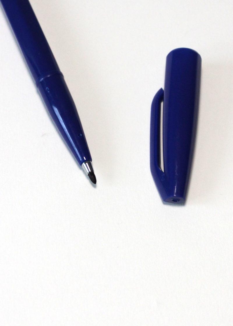 Pentel-Sign-Pen-Blue2