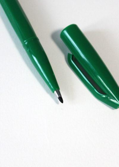 Pentel-Sign-Pen-Green2