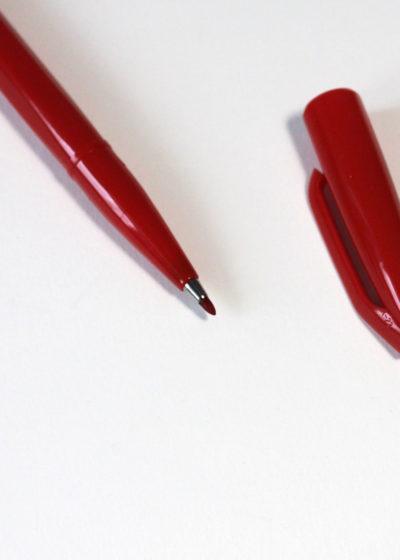 Pentel-Sign-Pen-Red2