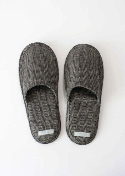 foglinenwork-linen-slippers-herringbone1