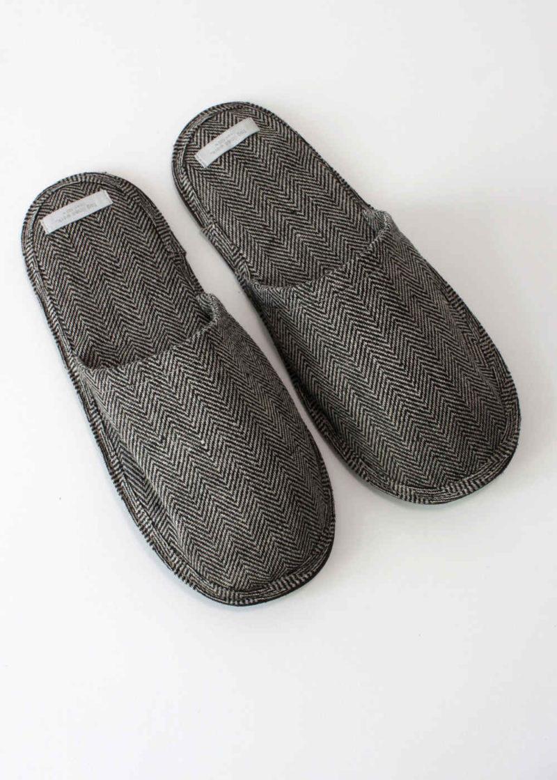foglinenwork-linen-slippers-herringbone2