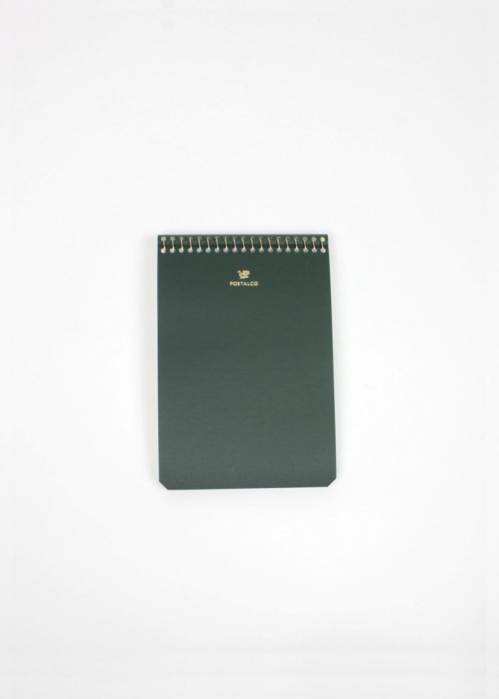 Postalco-Notebook-A6-Bankgreen-01