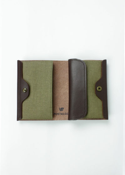 Postalco-Pressed-Cotton-Card-&-Coin-Wallet-OliveGreen-02