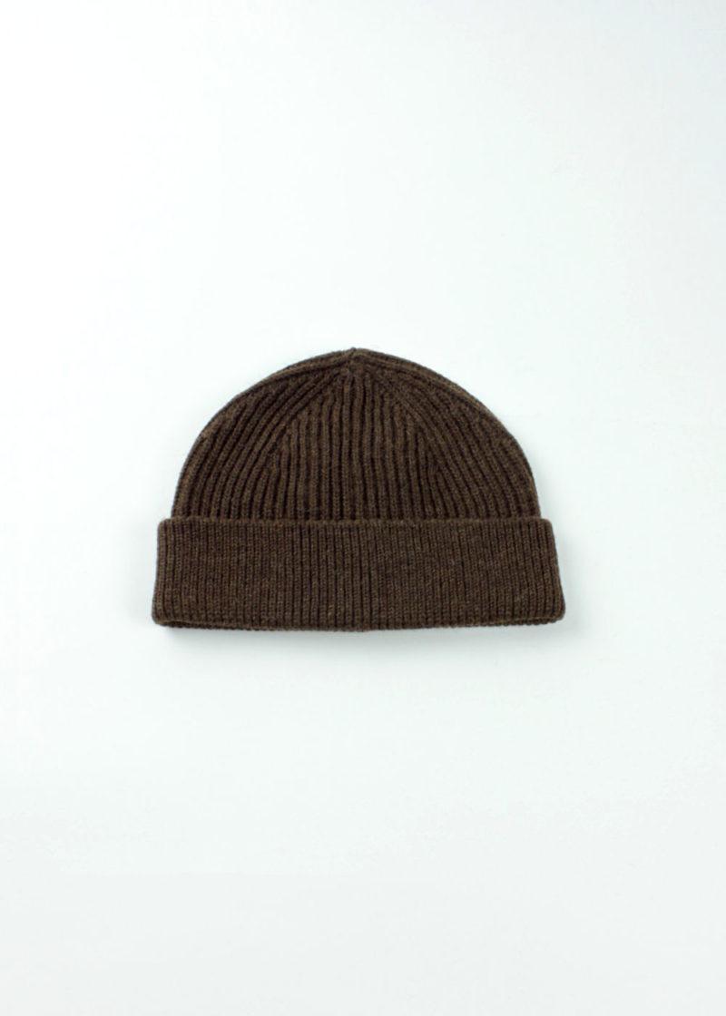 Andersen-Andersen-Beanie Medium-Natural-Brown-01