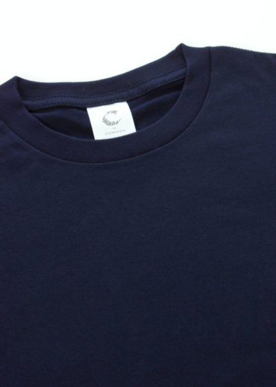 C-by-COMMON-Crew-neck-ling-sleeve-T-shirts-Navy-02