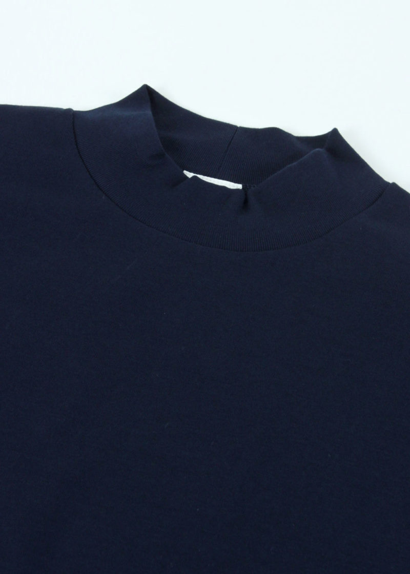 C-by-COMMON-Hi-neck-ling-sleeve-T-shirts-Navy-02