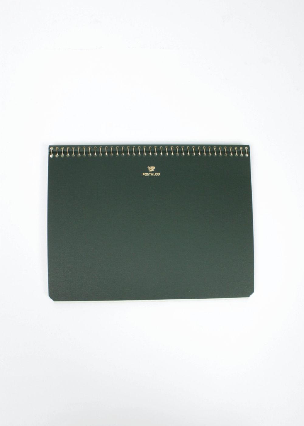 Postalco-Notebook-A5-Bankgreen-01