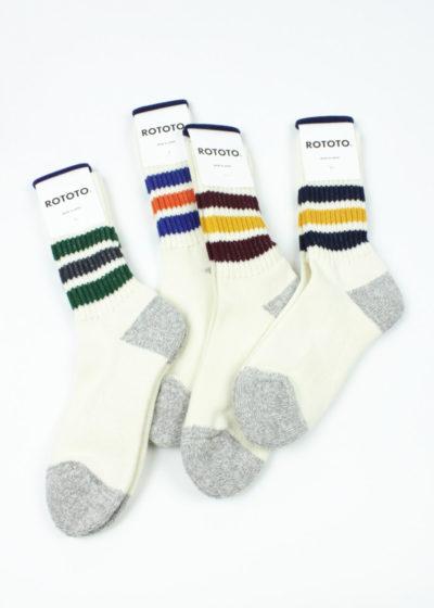 Rototo-Coarse-Ribbed-Oldschool-socks--all-color