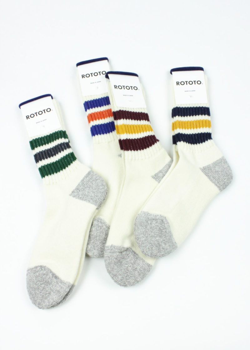 Rototo-Coarse-Ribbed-Oldschool-socks--all-color
