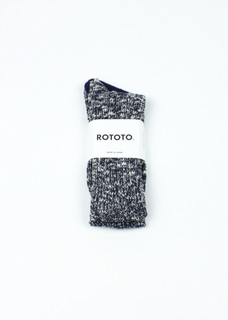 Rototo-Low-Gauge-Slub-Crew-Socks-Navy-01