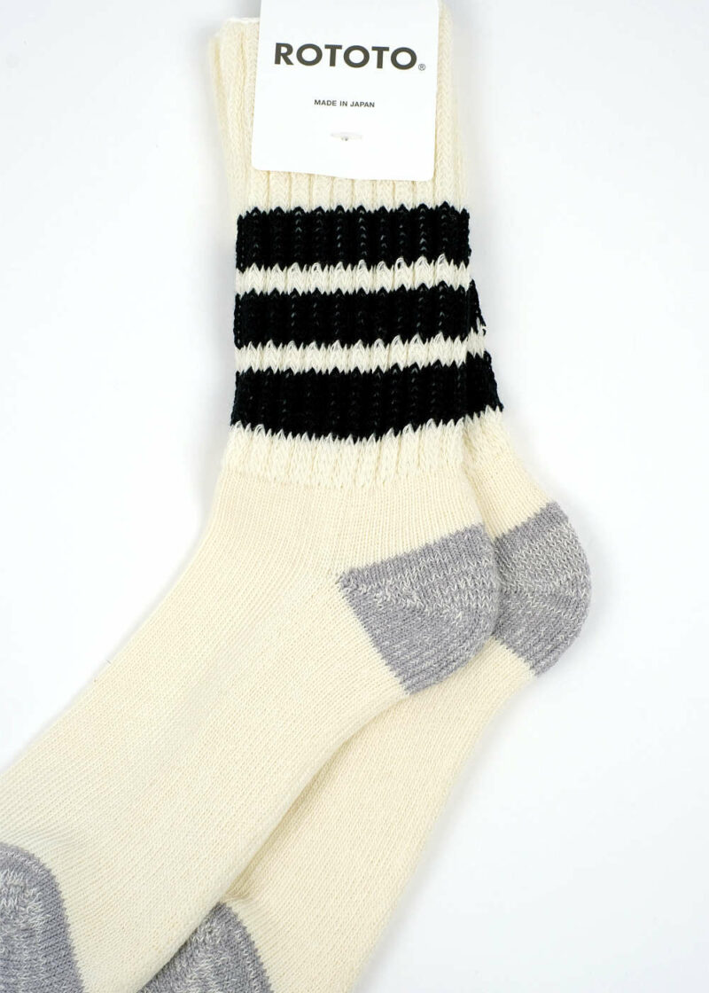 Rototo-coarse-ribbed-oldschool-socks-Black-02