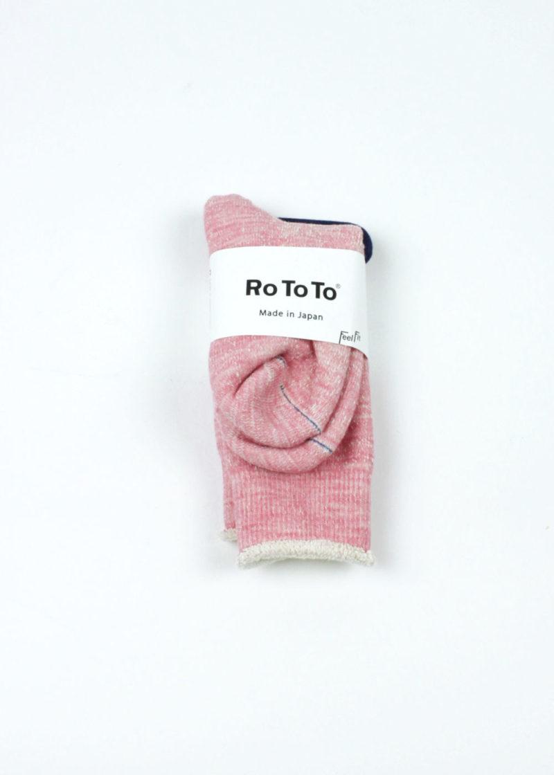 Rototo-double-face-socks-light-pink-01