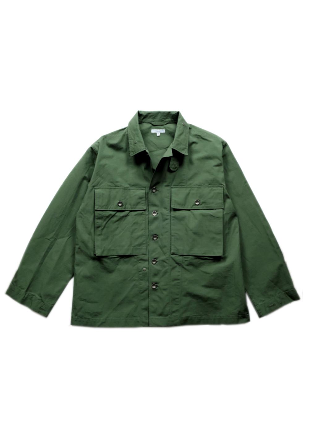 Engineered-Garments-M43-2-Shirt-Jacket-Olive-Cotton-Ripstop-01