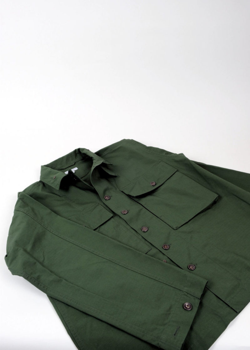 Engineered-Garments-M43-2-Shirt-Jacket-Olive-Cotton-Ripstop-02