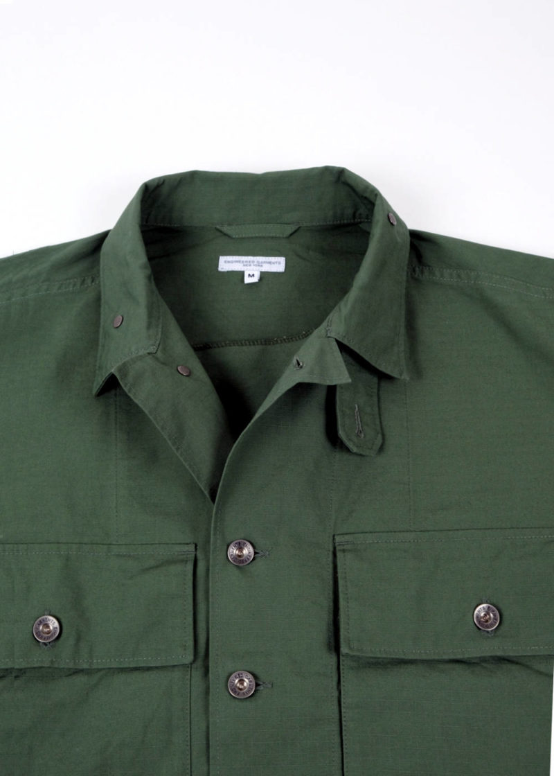Engineered-Garments-M43-2-Shirt-Jacket-Olive-Cotton-Ripstop-03