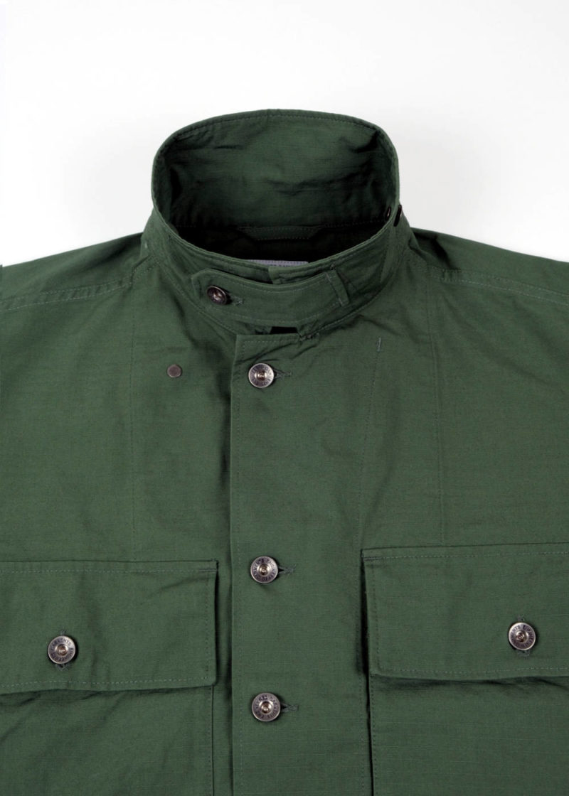 Engineered-Garments-M43-2-Shirt-Jacket-Olive-Cotton-Ripstop-04