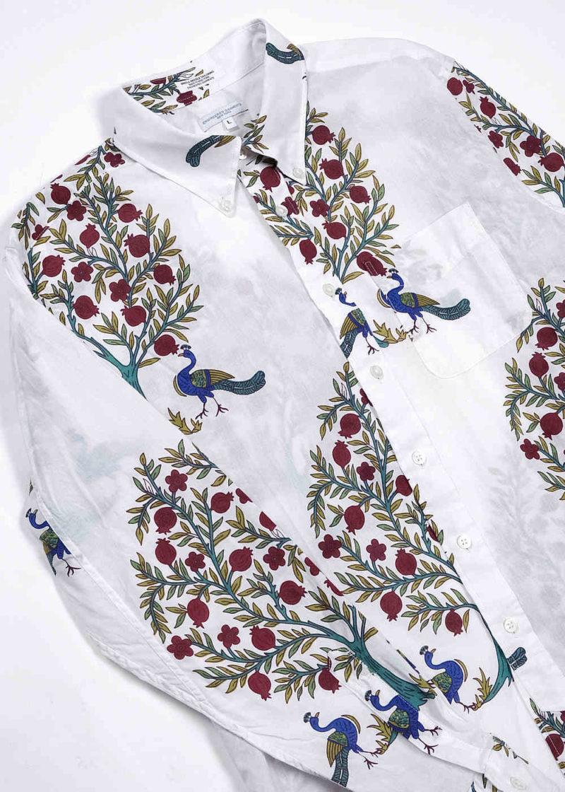 Engineered-Garments-19-Century-BD-Shirt-Natural-Cotton-Lawn-Peacock-Print-04