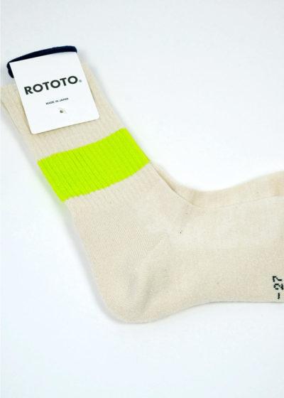 Rototo-ClassicCrewSocks-SilkCotton-Ivory-Neon.yellow-02
