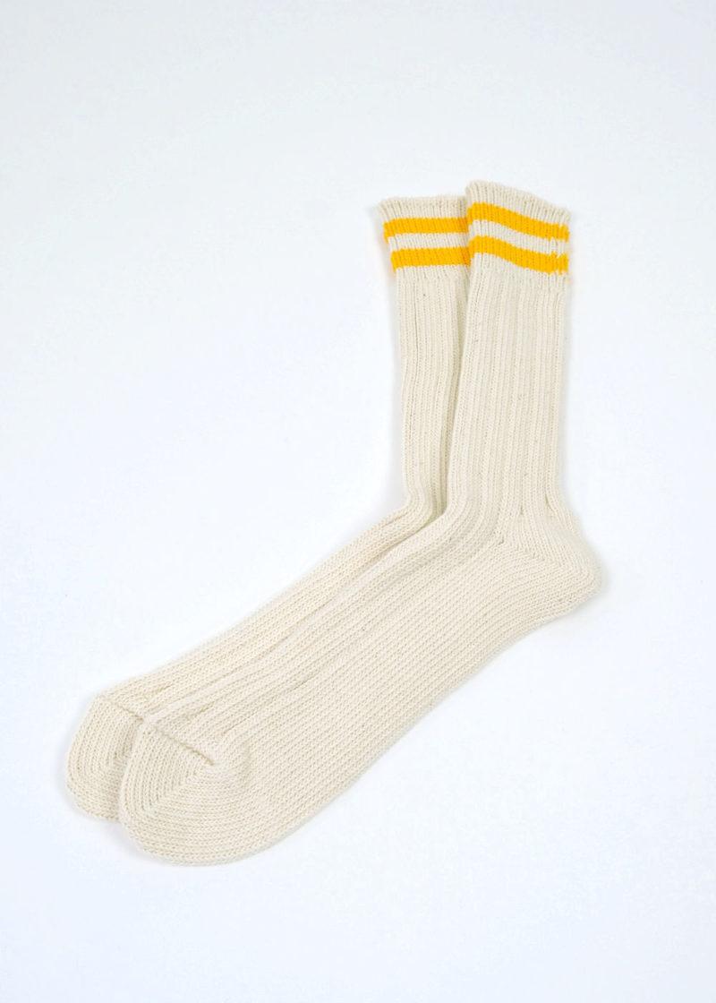 Rototo-LowRawRototo-LowRawSocks-2 Stripes-Ecru-D.yellow-02Socks-2 Stripes-Ecru-D.yellow2