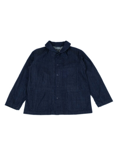 Engineered-Garments-Shawl-Collar-Cover-Jacket-Indigo-10z-Broken-Denim-01