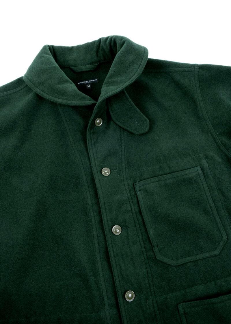 Engineered-Garments-Shawl-Collar-Jacket-Forest-Green-Poly-Fake-Melton-02