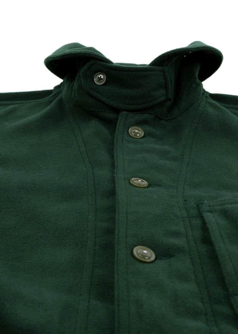 Engineered-Garments-Shawl-Collar-Jacket-Forest-Green-Poly-Fake-Melton-03